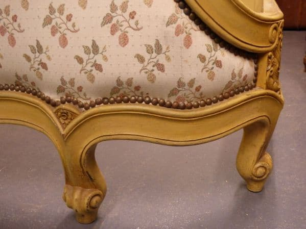 Antique French King Size Bed - bw29